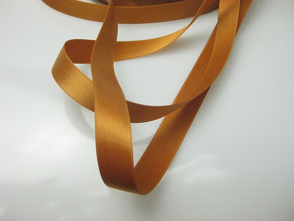 Burnt orange ribbon