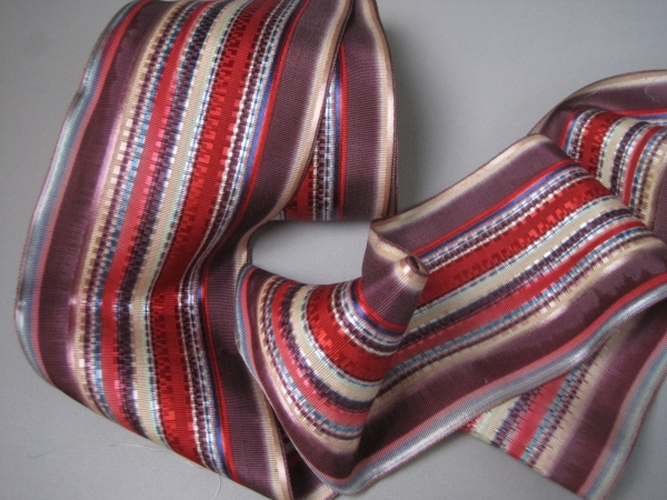 red striped ribbon