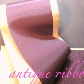 Vintage silk ribbon