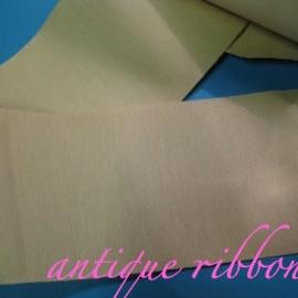 Vintage silk taffeta ribbon