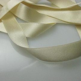 cream silk ribbon