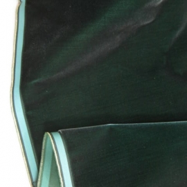 Vintage Edwardian era velvet forest green