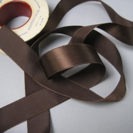 brown rayon ribbon