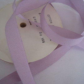 Lavender Petersham ribbon