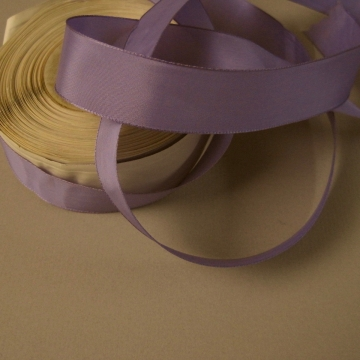 Vintage 30s lavender rayon faille ribbon 1 inch width
